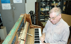 Isle of Wight piano tuning